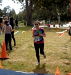 Lisa Ludwinski finish