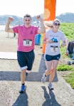 Brooke Burns, Matthew Garibaldi finish line 3
