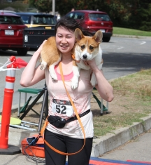 corgi finish line